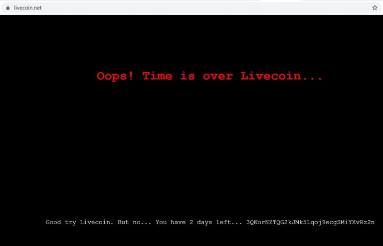 Livecoin, the Russian Crypto Exchange Shuts Down After December Hack 3
