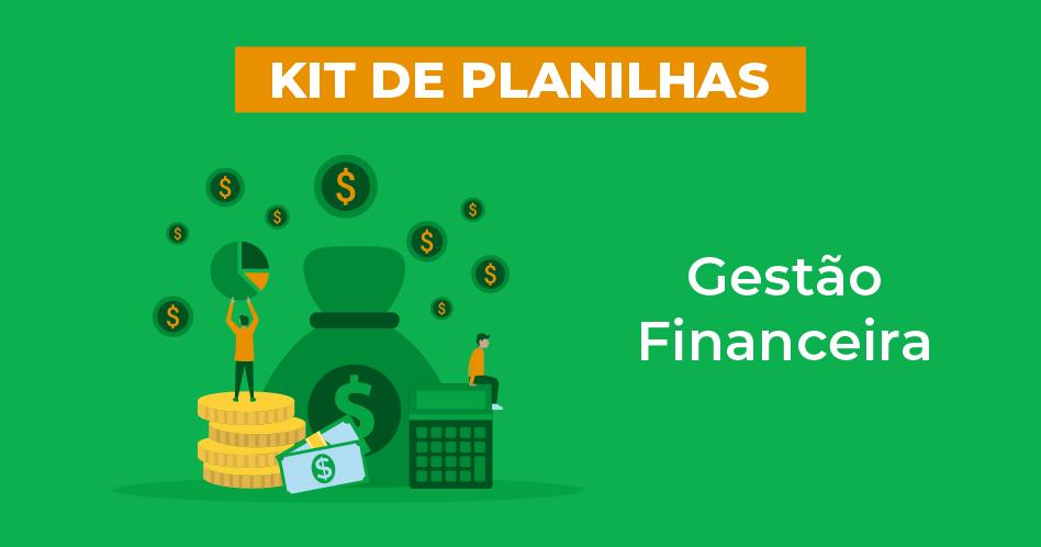imagem do kit de planilhas de gestão financeira