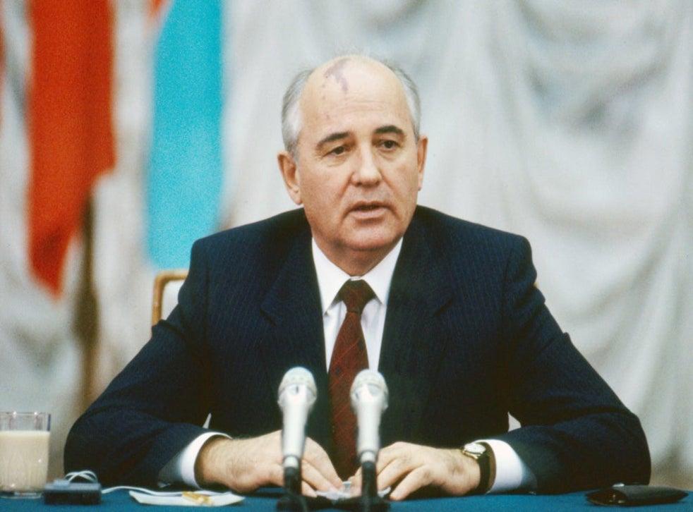 Mikhail Gorbachev in 1989