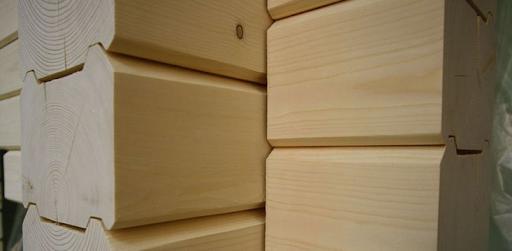 Профилированный брус в строительстве деревянных бань