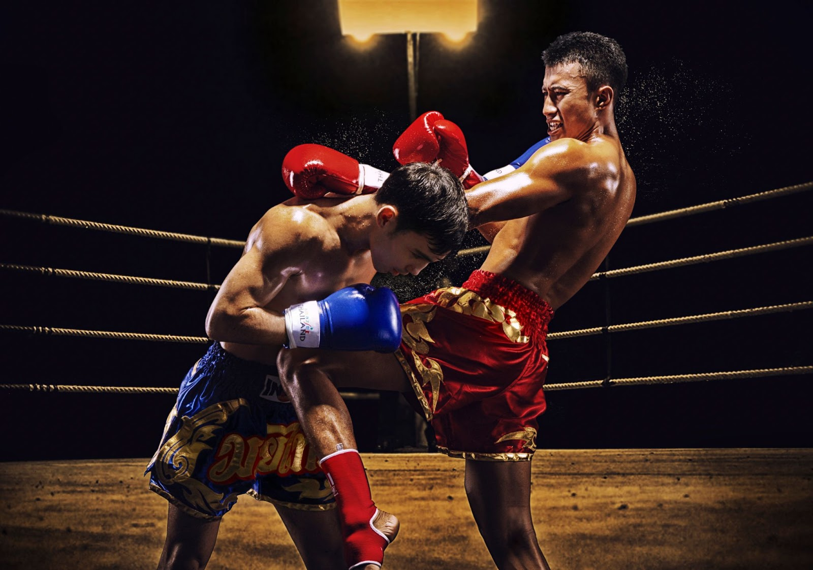 Visitors can learn Thailand's traditional martial art, Muay Thai
