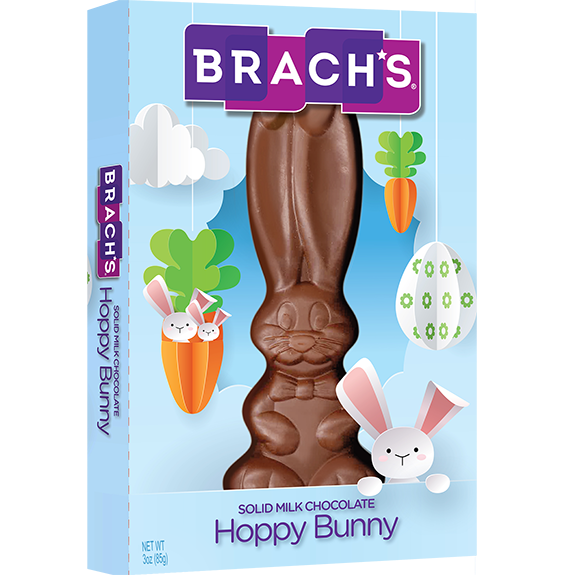Solid chocolate Easter bunny from Brach's