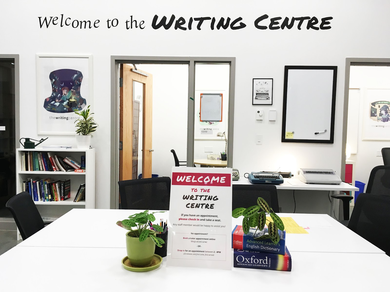 Image of the Emily Carr Writing Centre
