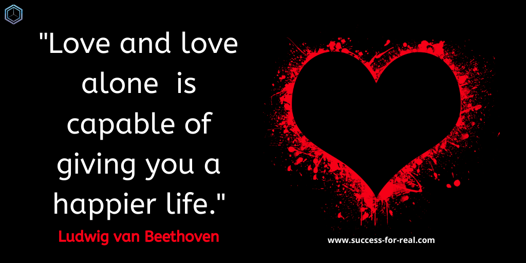 365 Success Quotes For Motivation - Picture Quote By Ludwig van Beethoven