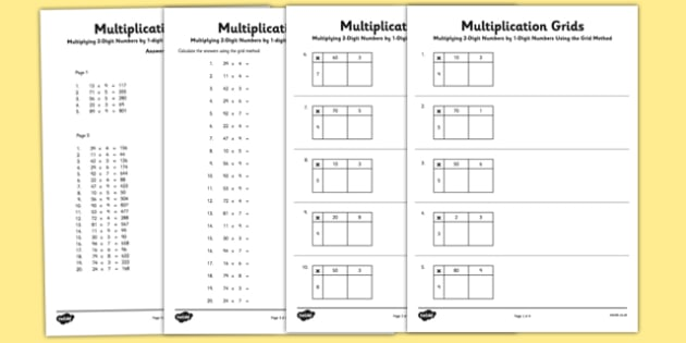 The Grid Method: A Guide to Long Multiplication for ...