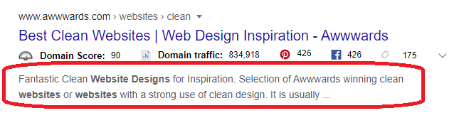 best meta description example
