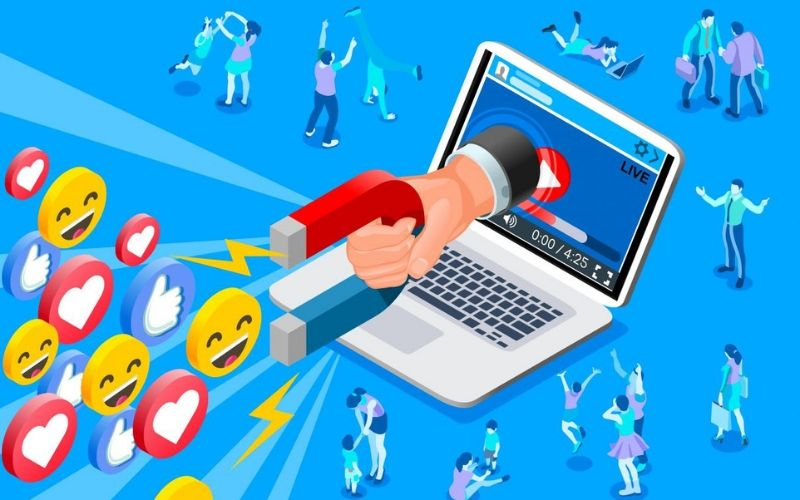 Tăng cường tương tác với khách hàng là một trong những mục tiêu quan trọng khi xây dựng Fanpage Facebook