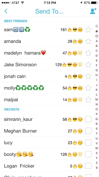 how to change emojis on snapchat streaks