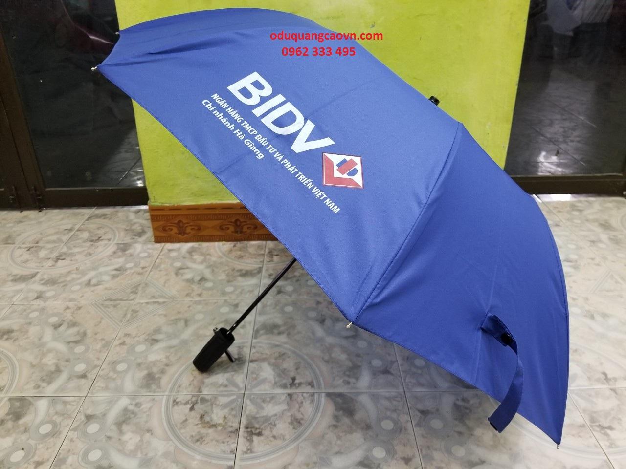 Một mẫu ô của ngân hàng BIDV