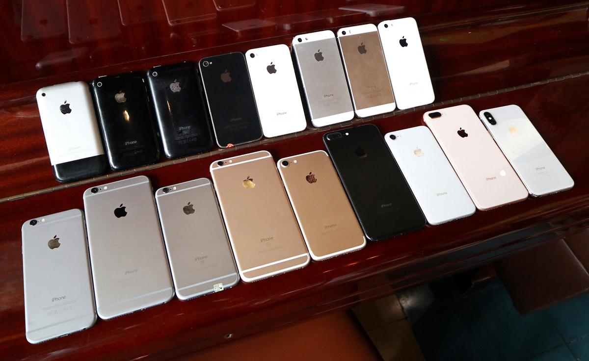 Sự thay đổi của iPhone qua các đời