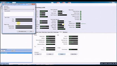 Modbus supervisory software