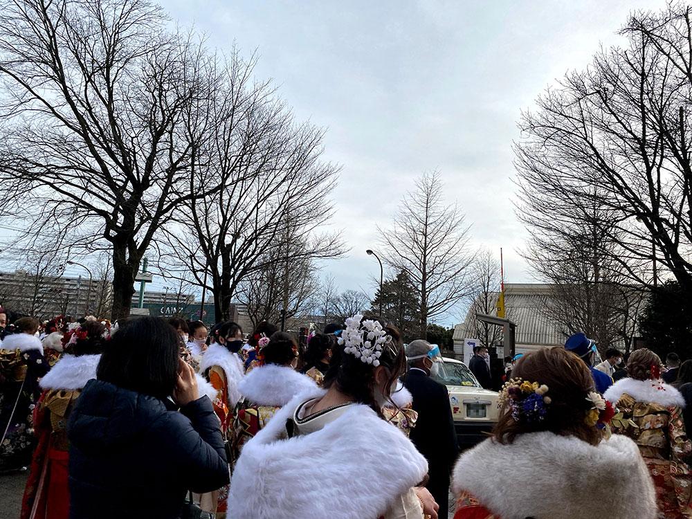 昭島市成人式の様子