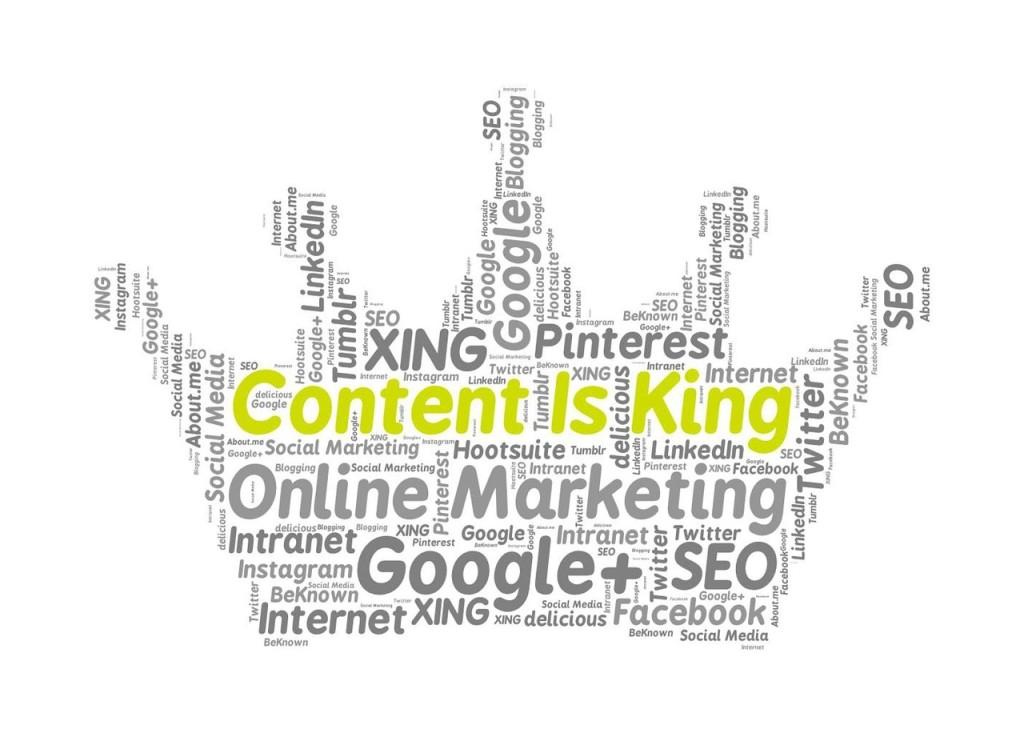 контент-маркетинг на сайте