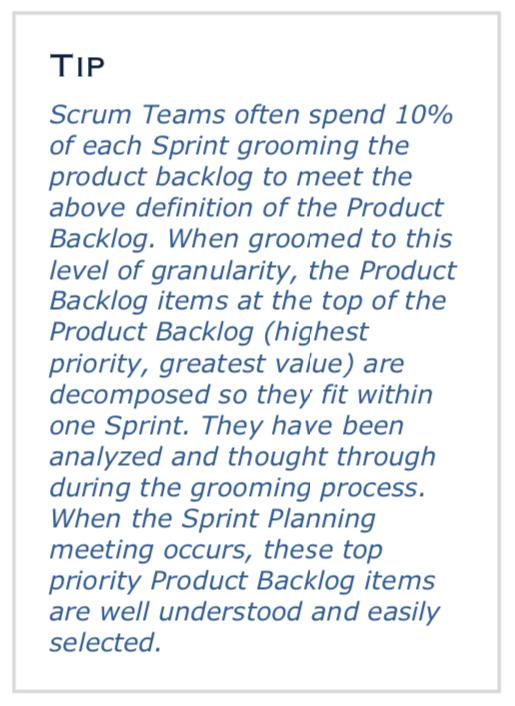 zmiany w Scrum Guide