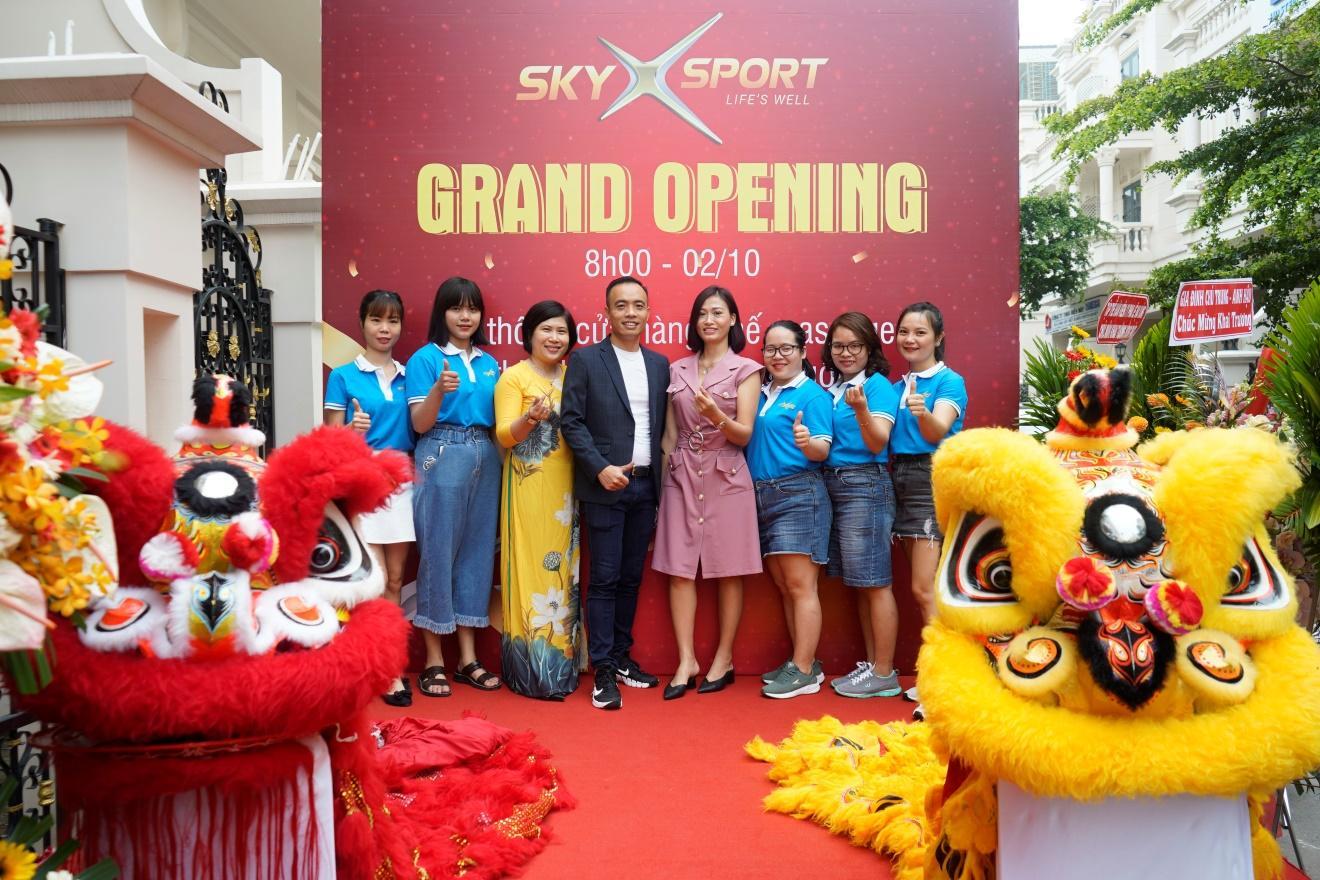 SkyX Sport khai trương ra mắt thương hiệu với ưu đãi cực lớn - Ảnh 1