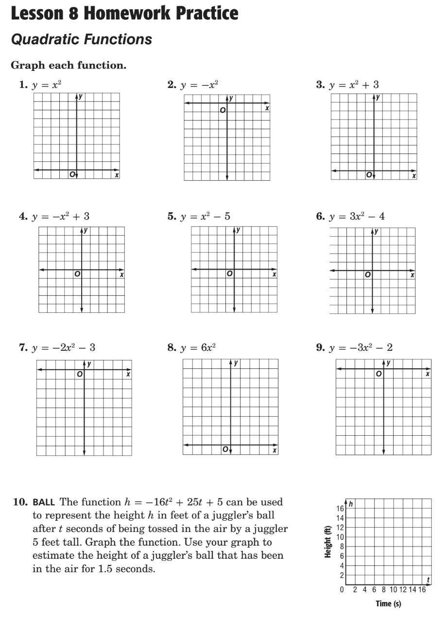 803 Homework 2015-2016 - Ms. Marfat's Math Classes