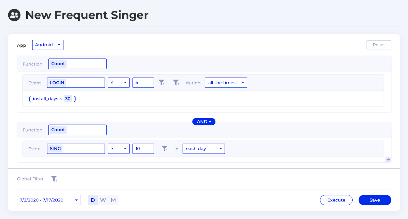 Kubit Cohort for Frequent Singer