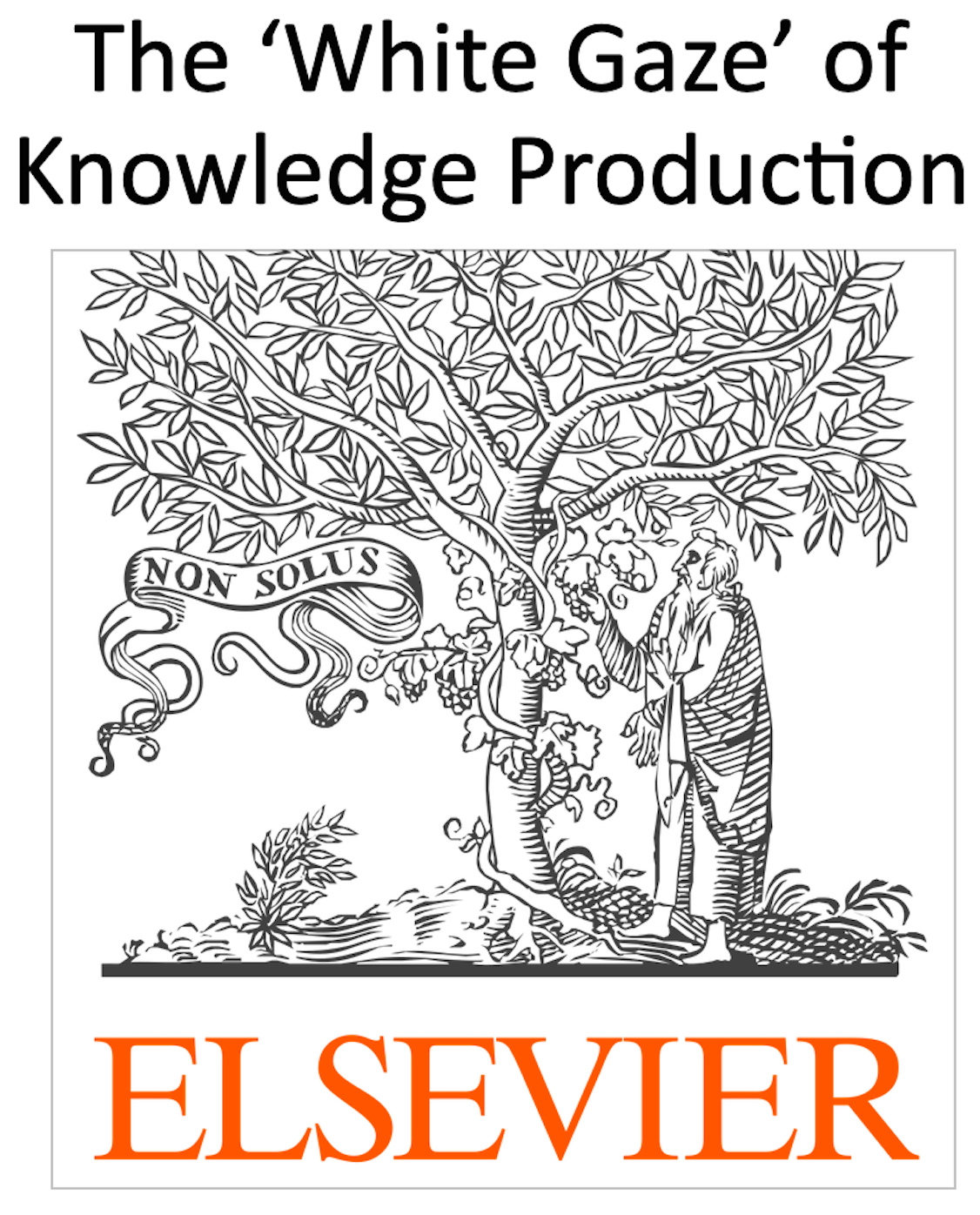 The Elsevier logo with added text at the top
