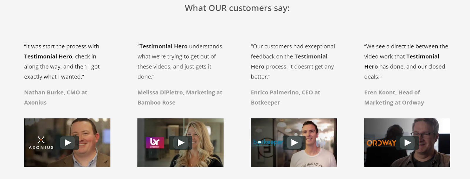 3 Easy Ways to Capture Tons of B2B Customer Testimonial Videos