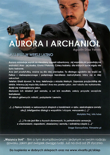 Tył ulotki filmu 'Aurora i Archanioł'