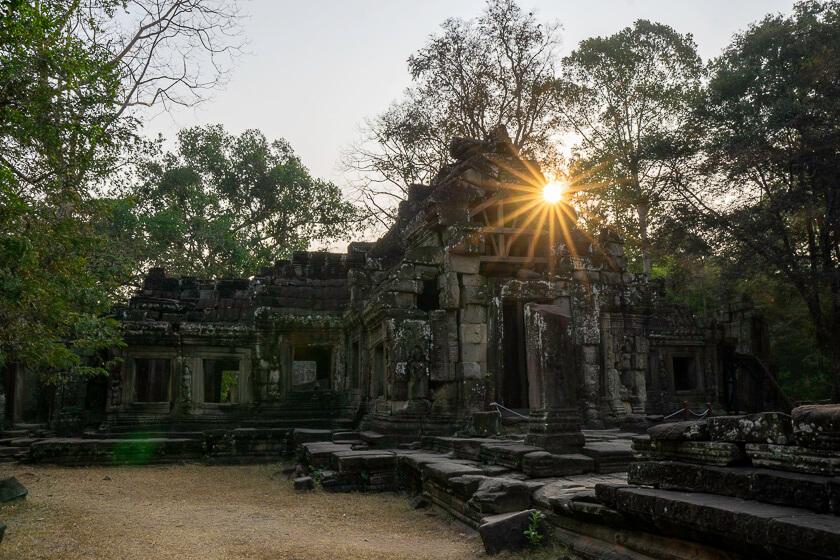 Banteay Kdei temple.