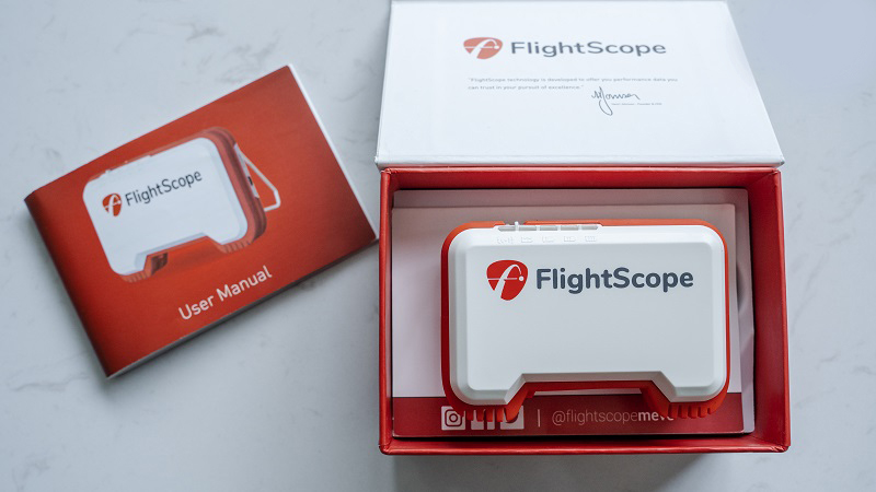 Flightscope Mevo App Golf  - Thiết bị đo Swing hành đầu hiện nay