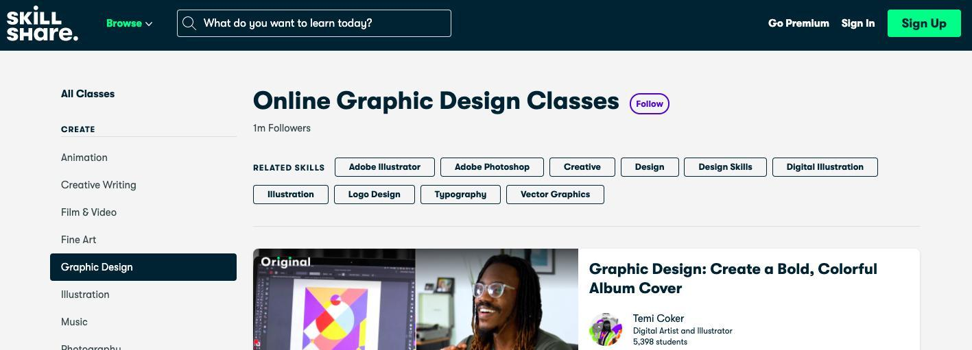 Web and Graphic Design Online Courses for Beginners