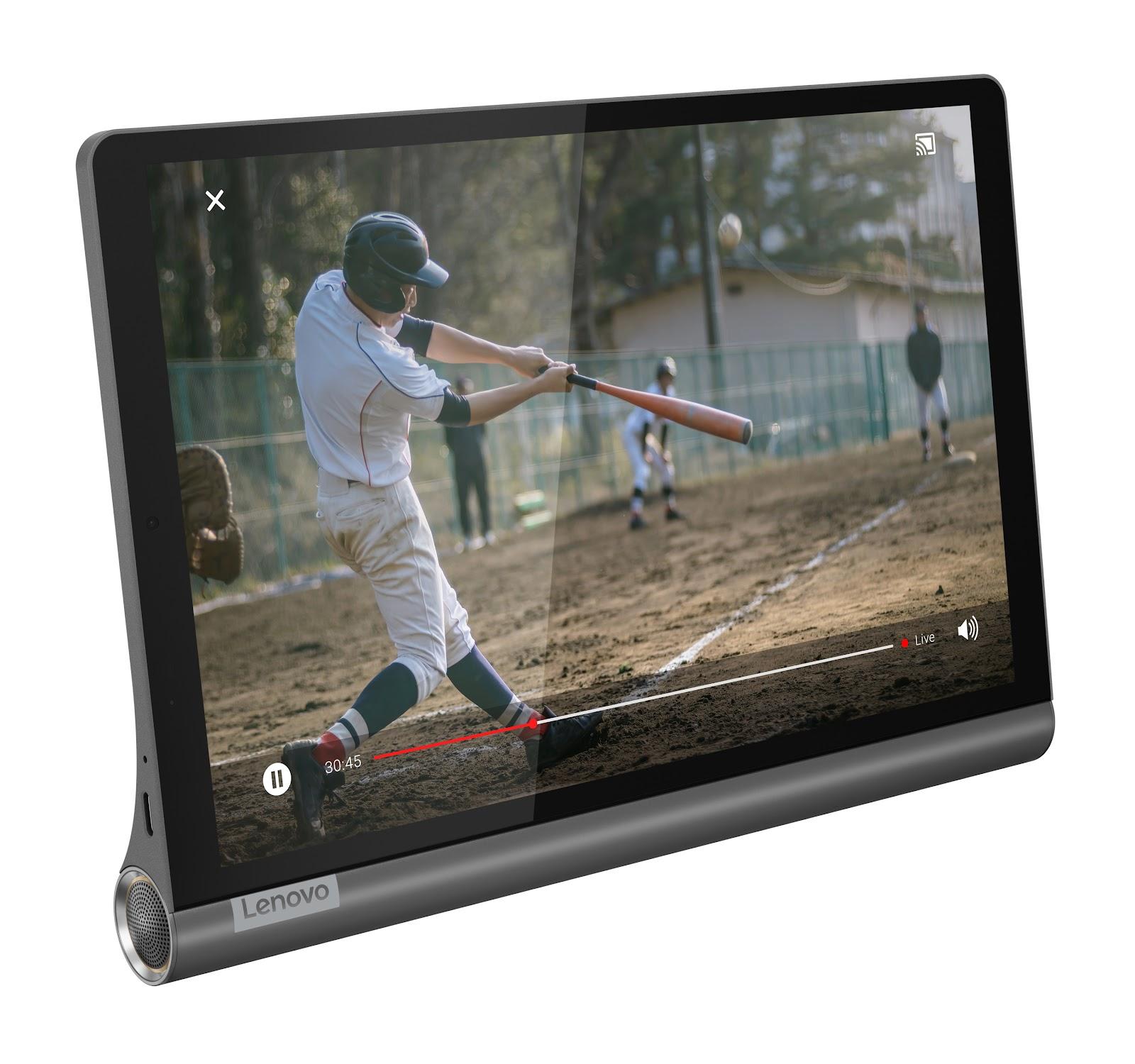 Фото 2. Планшет Yoga Smart Tab YT-X705F Iron Grey (ZA3V0019UA)