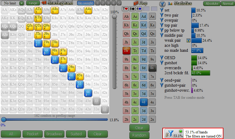 floating poker strategy on t84r