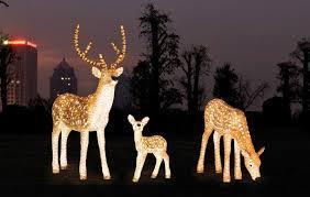 Christmas outoor decorative acrylic LED reindeers   Outdoor christmas  reindeer, Reindeer outdoor decorations, Outdoor christmas deer