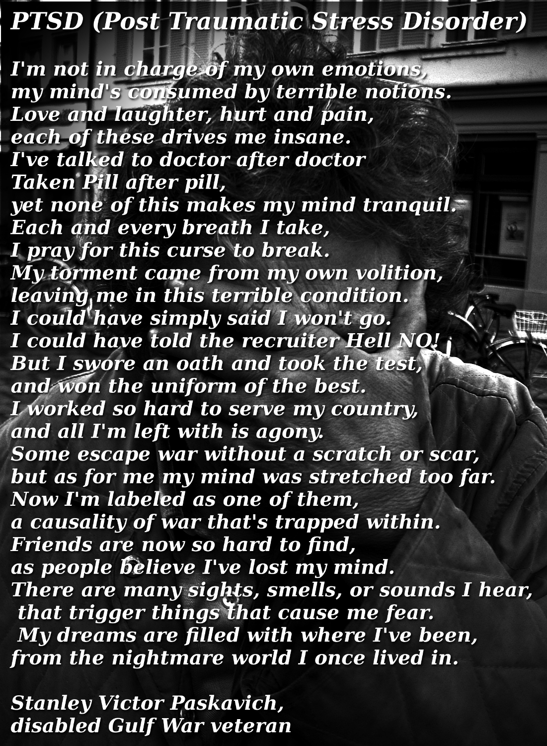 Ptsd poems