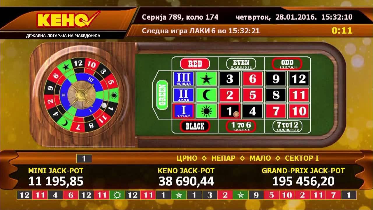 Galaxy Casino keno