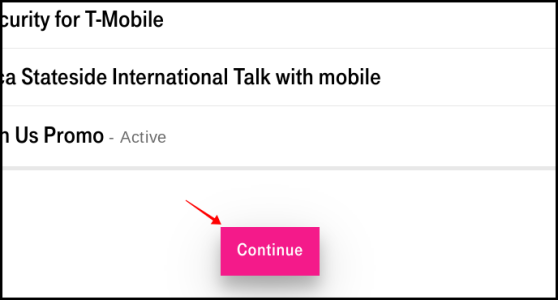 T-Mobile Netflix Cancellation confirmation