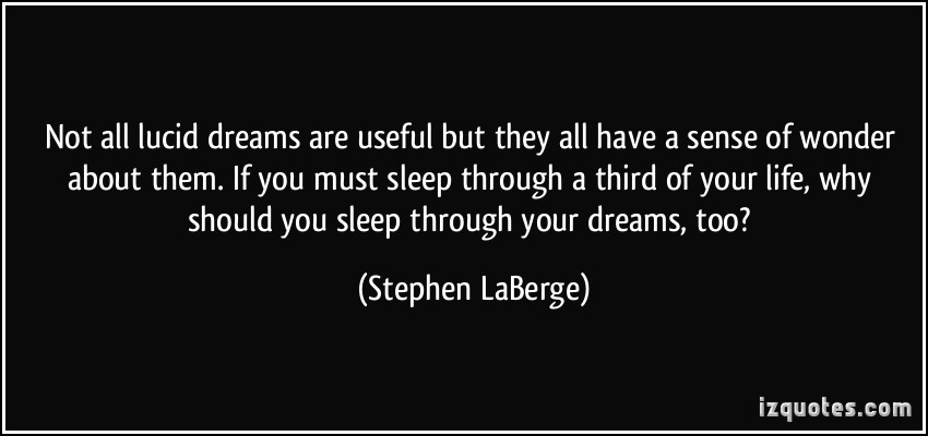 Learn to control what you do in your dreams – The 10-Minute Blog