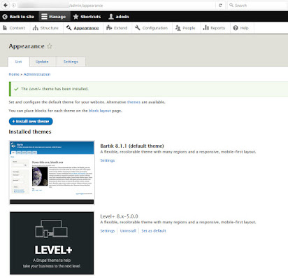 Documentation & User Guide for Level+ for Drupal 8