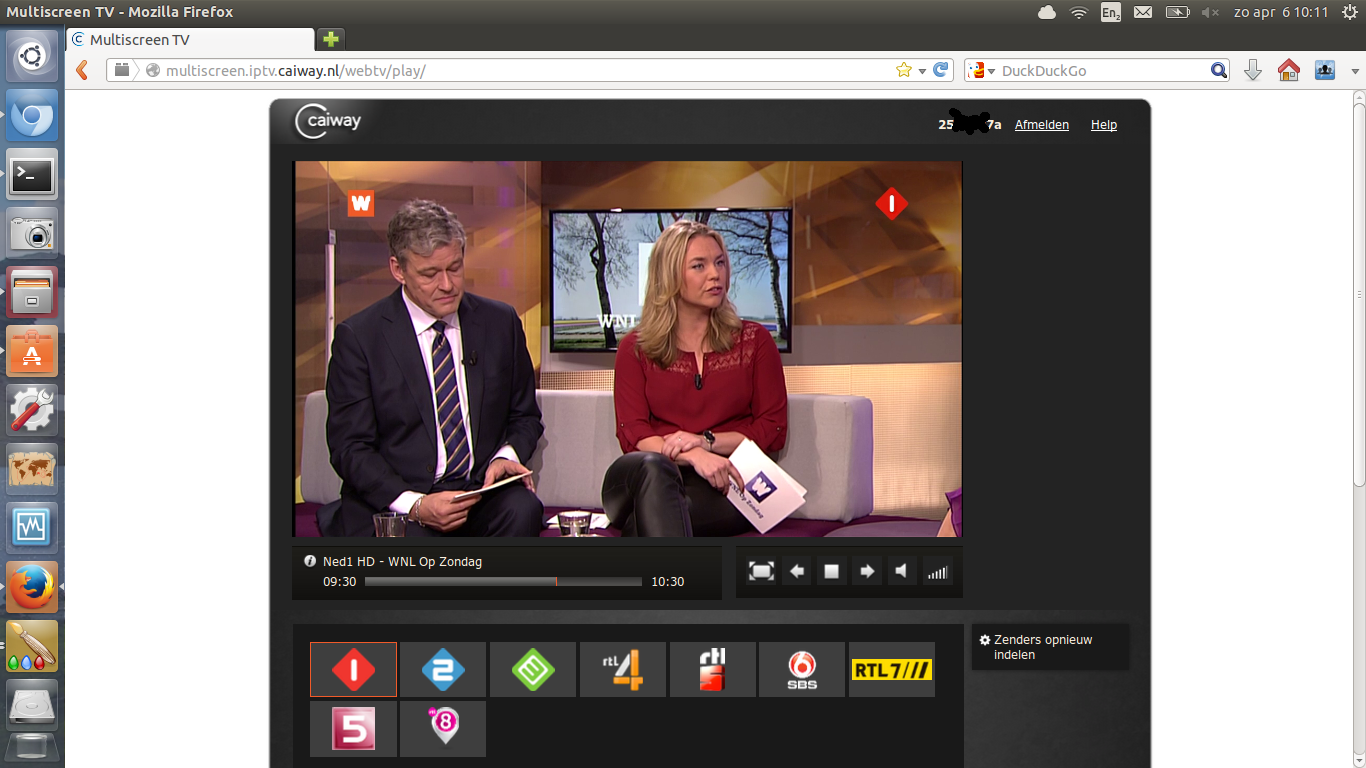 Caiway Multiscreen WebTV met Ubuntu Linux | Eva & Quirinius Multiscreen Tv Caiway Inloggen
