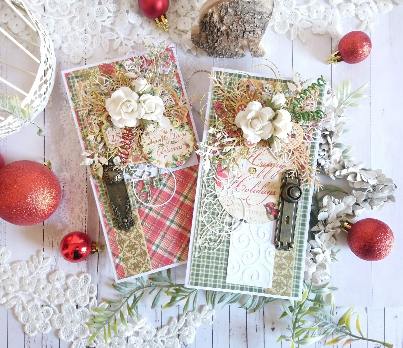 G45Card - Step By Step to Elegant Christmas Cards