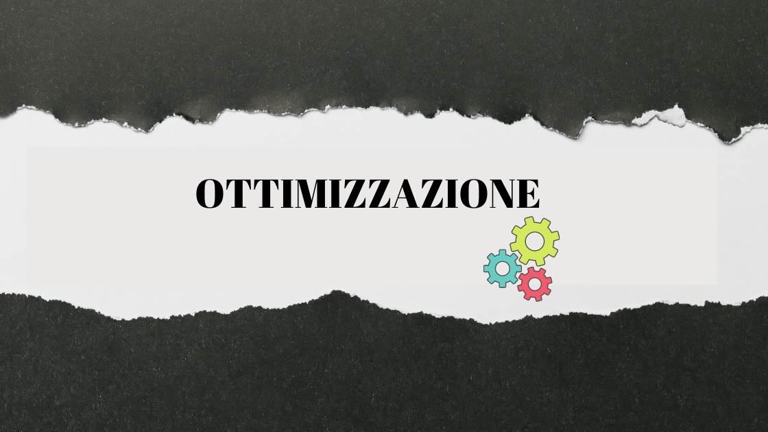 ottimizzazione di processi