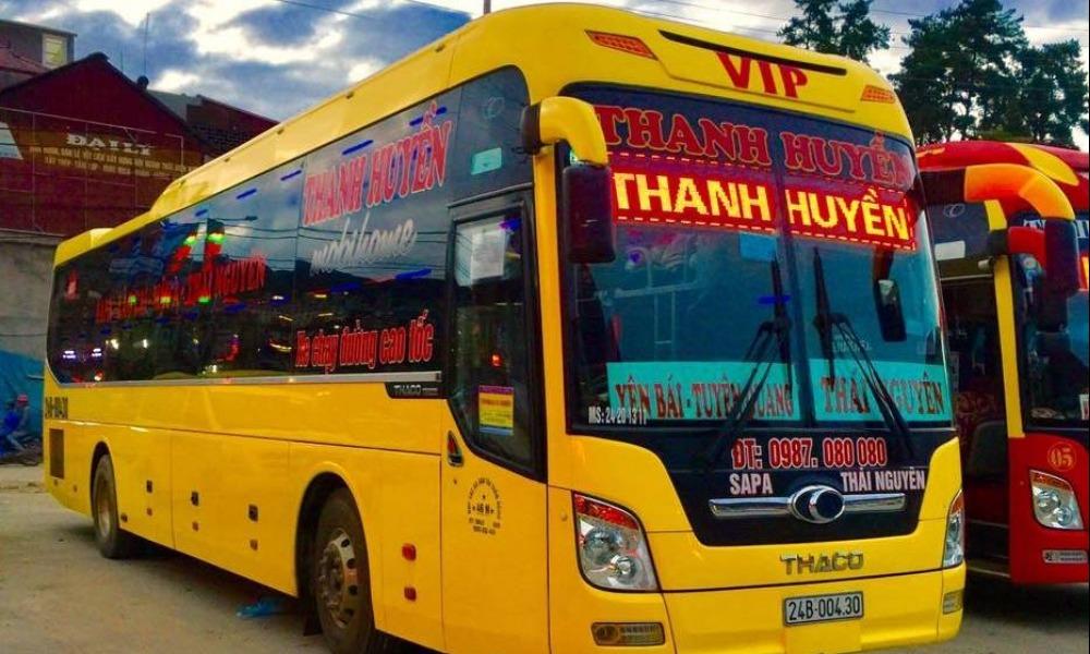 Xe Thanh Huyền từ Thái Nguyên đi Lào Cai