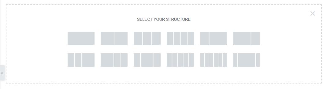 pilihan section elementor - membuat website portofolio