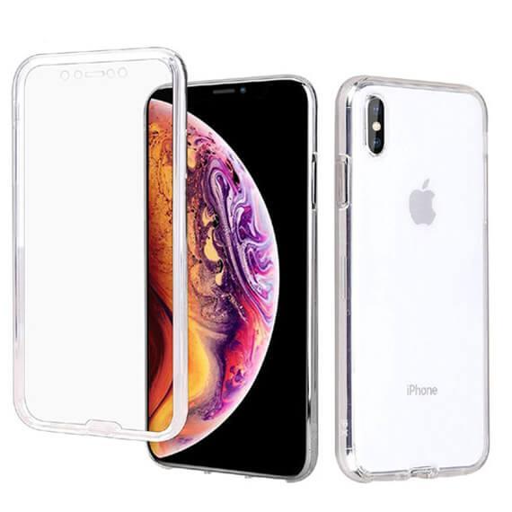 Картинки по запросу Чехол iPaky Crystal 360 градусов для Apple iPhone XS Max (6.5