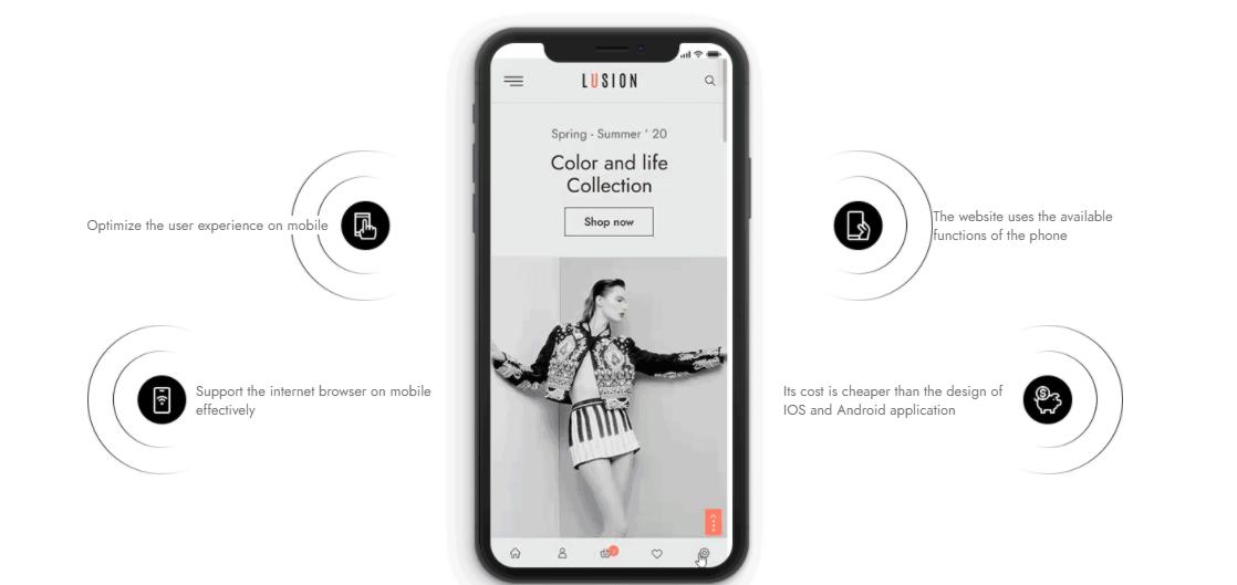 mobile version wordpress theme