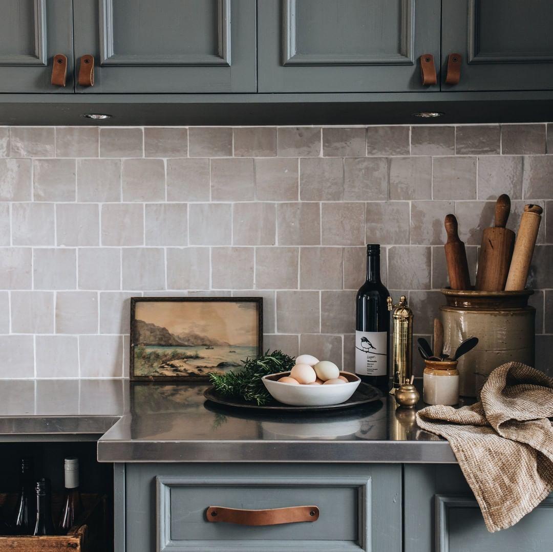 Estilos de decoración de interiores:  cocina estilo rústico moderno