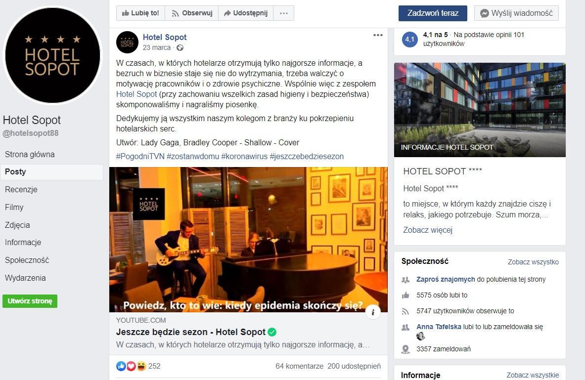 budowanie zasięgów - branża hotelarska w mediach społecznościowych