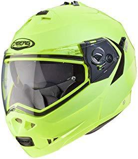 Caberg Casco Moto Duke Ii Hi-Viz (S, Amarillo)