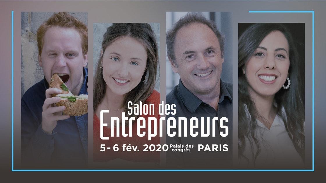 """Résultat de recherche d'images pour """"le salon des entrepreneurs 2020"""""""""""