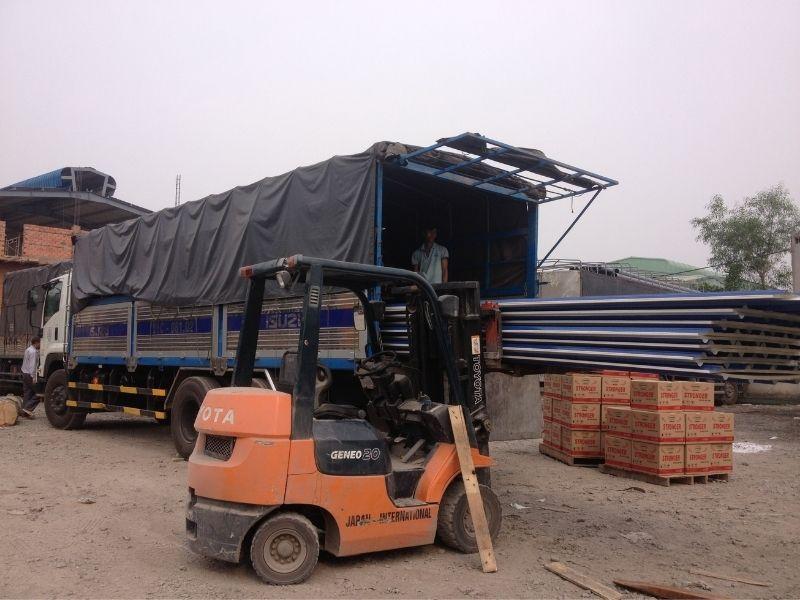 Chành xe gửi hàng đi Ninh Hòa từ HCM/HN uy tín