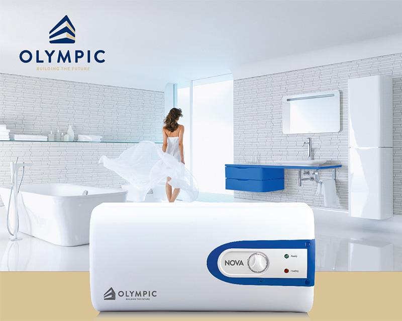 Bình nóng lạnh Olympic Nova - dòng bình tiết kiệm điện của thương hiệu Olympic