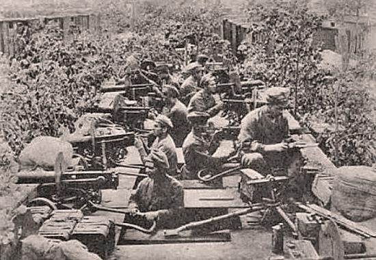 чешские легионеры, 1918