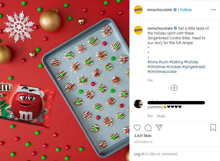 Holiday post 2019 - M&M chocolate